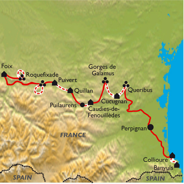 Walking Holiday Cathar Country Tours