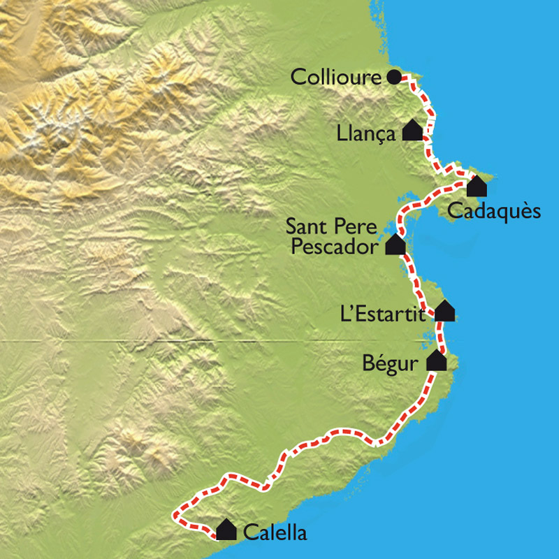 Spanish and french Pyrenees cycling holiday
